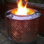 Ateş yakmak için tambur